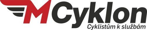 M · Cyklon - Miroslav Horák Logo